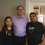 Larry Tylka helped the Requena family get insurance claims after an auto crash!