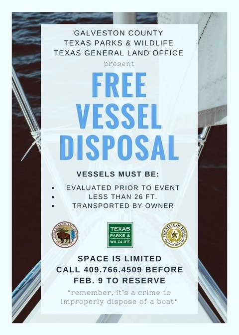 Galveston Jetski and Small Boat Disposal
