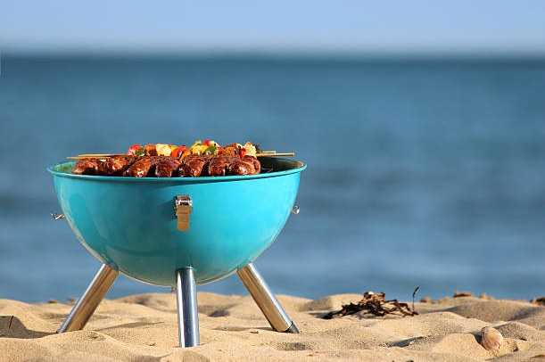 A BBQ on Galveston Beaches